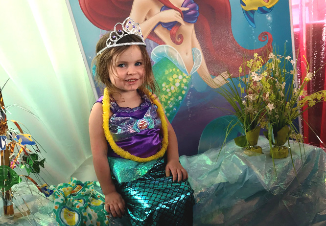 Themed kid's party on the Gull Lake Cruises yacht, North Star