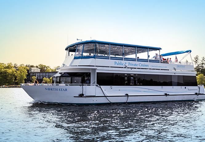 Gull Lake Cruises yacht the North Star