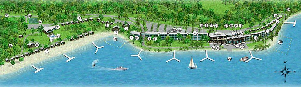 craguns-resort-map