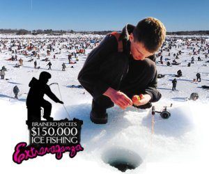 $150,000 Jaycees Ice fishing Extravaganza – Gull Lake