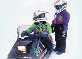 Kitty Cat Snowmobile Track