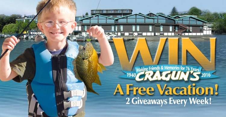 Cragun's Make A Memory Vacation Sweepstakes and Contest
