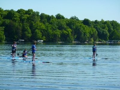Paddleboard Lesson @ Cragun's Marina | East Gull Lake | Minnesota | United States