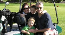 Family golf at Cragun's Legacy Courses