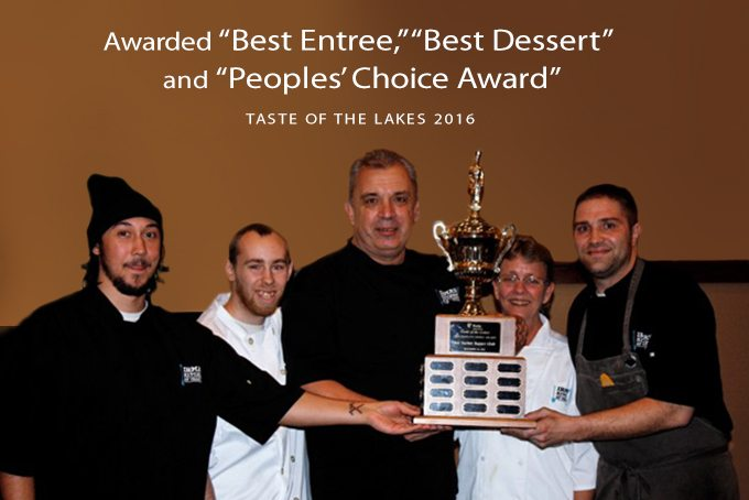 Irma's Kitchen Awarded Best Entry, Best Dessert and People's Choice Award from Taste of the Lakes 2016