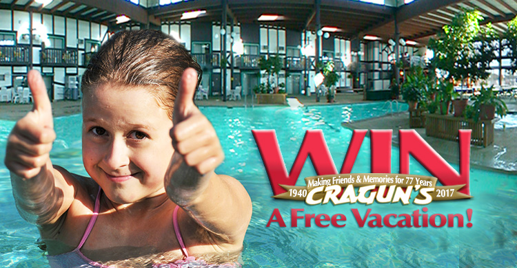 Win A Free Vacation To Cragun's
