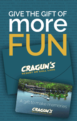 Cragun's gift cards