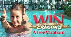 """Enter Cragun's """"Make A Memory Vacation"""" Sweepstakes"""