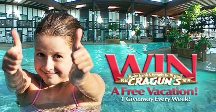 Win a Free Vacation 1 Giveaway Every Week