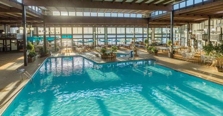 Cragun's huge indoor pool
