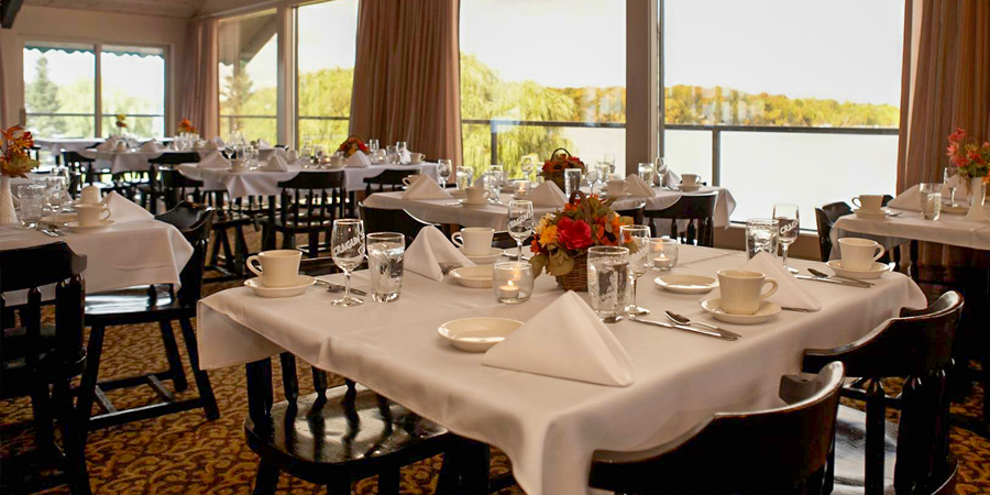 Welcome to the Lakeside Dining Room
